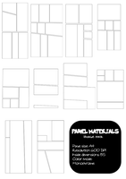 Panel Materials - Image Pack by pinkcamellia