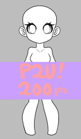 P2U Basic Pose Base 200pts/$2 by rap1993