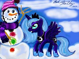 Snow And Luna by starlily77