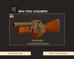 tf2 - demoman's new weapon by Harlad