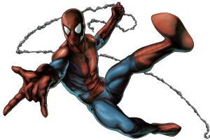 Spiderman colored by PatC-14