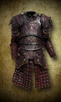 Karuna's armor by Chant-des-Louves