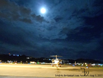 Full moon jet flight by K4nK4n