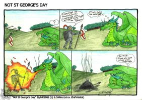 Not St George's Day by ZhaKrisstol