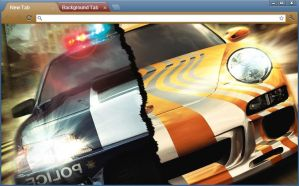 nfs chrome theme by yonited