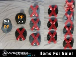 Discounted Resin Masks + Noses- Sales Post by CanineHybrid