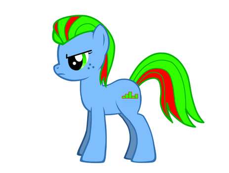 Neon Beats: My new OC (Read the Description!) by shado013