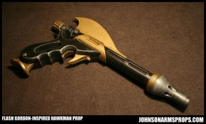 Flash Gordon-inspired Hawkman Gun by JohnsonArms