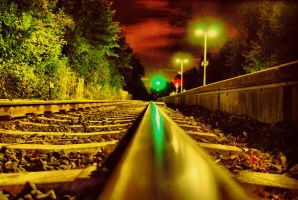 The Train is coming by Kalumba