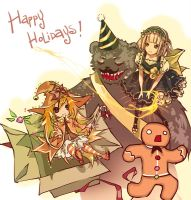 League of Legends -- Happy Holidays! by Nyanfood