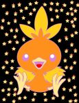 Cute Torchic x3 by GeckiGewaldro