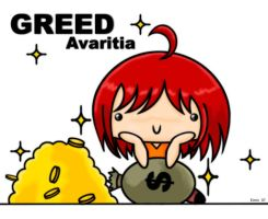 7 deadly sins -avaritia- by Panpukin-Princess