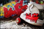 graffiti sneakers by RUCgost