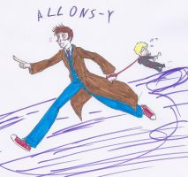 Allons-y by sparklingblue