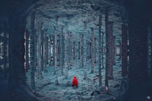 Lost Little Red by MBHenriksen