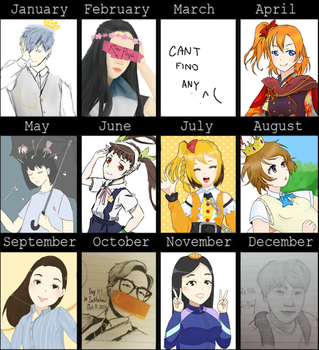 2016 art summary by BVBlism
