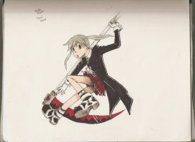 Maka Copic drawing by SamColwell