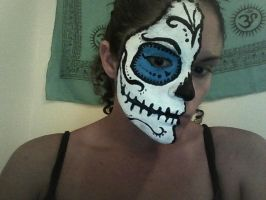 Sugar Skull Face Paint by Serene22
