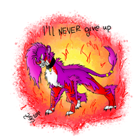 93. I'll never give up 2nd version by TigaLioness