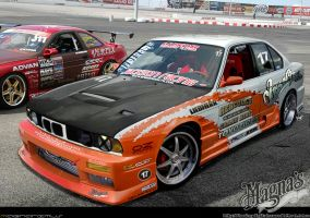 _BMW E34 Drifter Style_ by magnanimus