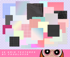 GRID TEXTURES | pack by foodlov3r