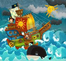 pirate ship 2 by honeyflavourcom