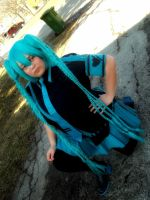 Miku  love is a war cosplay  #6 by jessthecase88