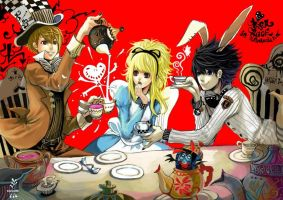ALICE MISA The banquet of noon tea by hoelex34