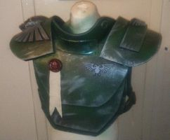 Imperial Guard armour by JosephharrisFX