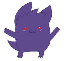 Gengar by Deadly-Meow