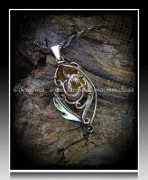 'Sweet dreams' sterling silver pendant (for sale) by seralune