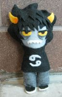 Karkat plush by VanilleB