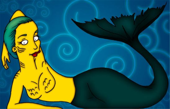 Yuyi the Mermaid by orl-graphics