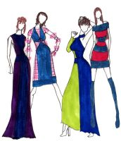 Denim Collection : Fashion Design by mitsuki0tennyo