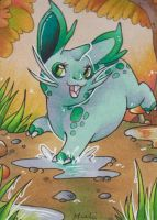 ACEO #093 - Cookie by Muukster