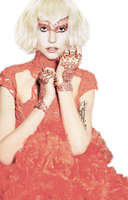 Lady gaga elle new png by javithoxs123