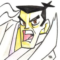 Daily Sketches Samurai Jack by fedde