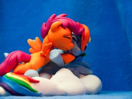 :Commission: Always there for me 2 by dustysculptures