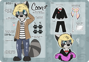 Aiden Cooper 2014 Reference Sheet by Beetleflight