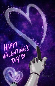 Happy Valentine's Day 2017 by zillabean