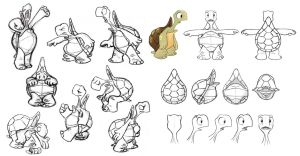 Turtle Model Sheet by bmaras