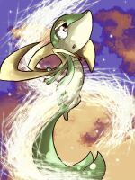 Snivy by NobleExorcist