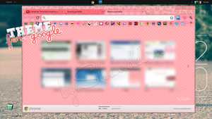 Theme.GoogleChrome.Pink by Ihavethedreamersdise