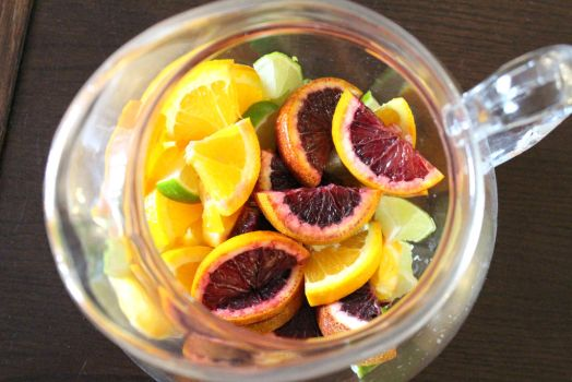 Blood Orange Sangria by LoveandConfections