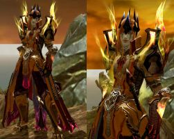 Mairon (Sauron) in Aion : Level 48 by fallenRazziel