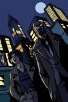 Gotham Central - Rnee Montoya and Crispus Allen