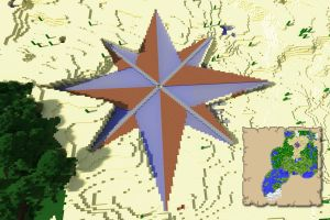 Desert Compass Rose [WIP] by nftadaedalus