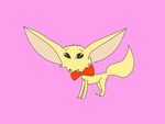 Cute little Fennec Fox by Roses-and-Feathers
