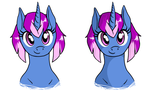 Guiding Light Busts by Sterling-Needle