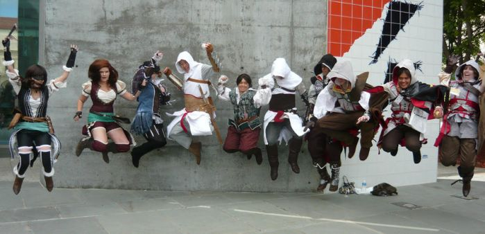 Fanime 2011 Jumping Assassins by miasaka